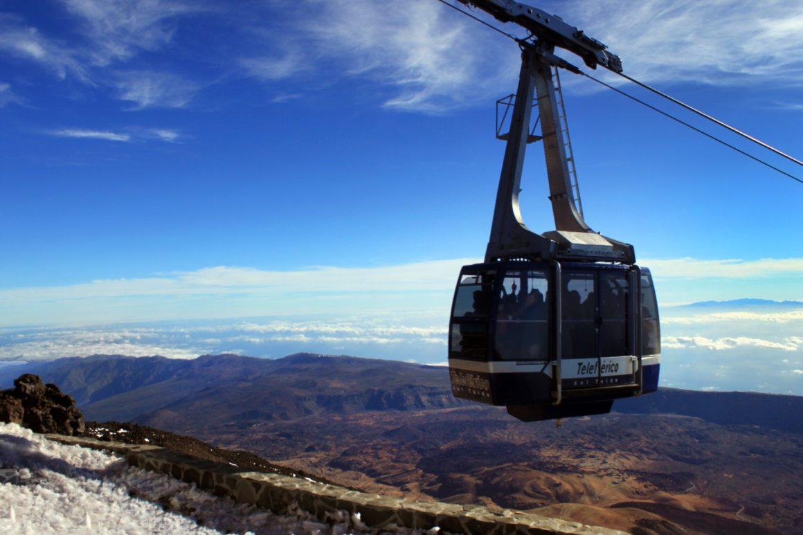 Die Teide-Bergbahn