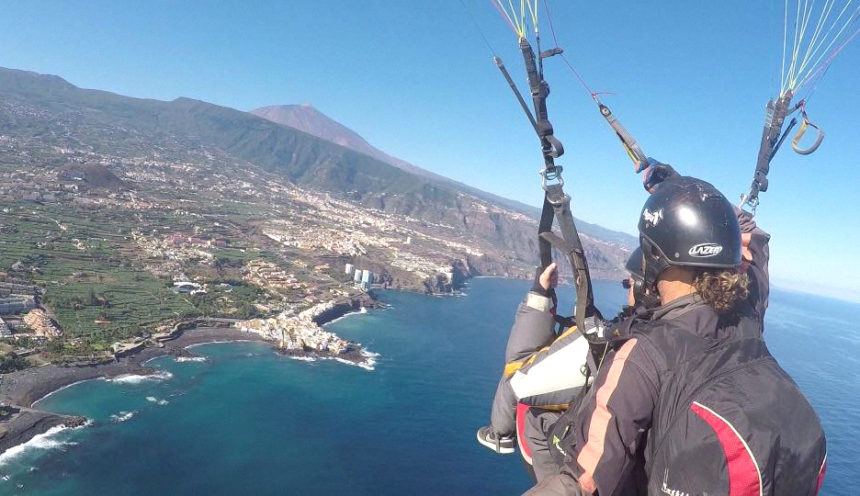 Paragliding in Tenerife: What you should know